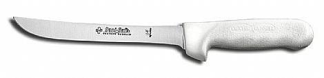 Cuchillo con hoja angulada de 15 cm.