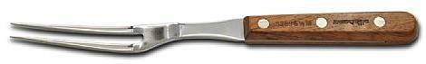 Tenedor de 33 cm. Mango negro