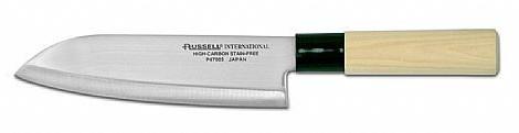 Cuchillo santoku de 17 cm. mango tipo Japonés